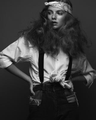Photographer Tatan Zuleta and Model Olivia Muller