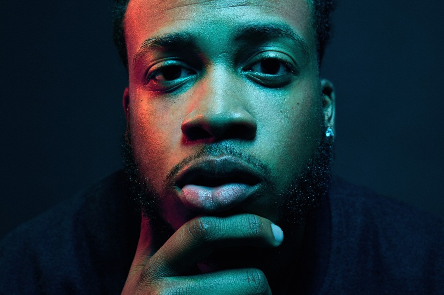 image of rapper CAMM by photographer rob crosby