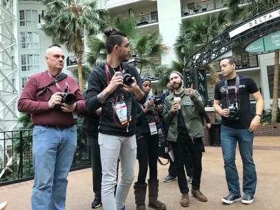 Imaging USA 2018 Photowalk Behind the Scenes by Anthony Romano
