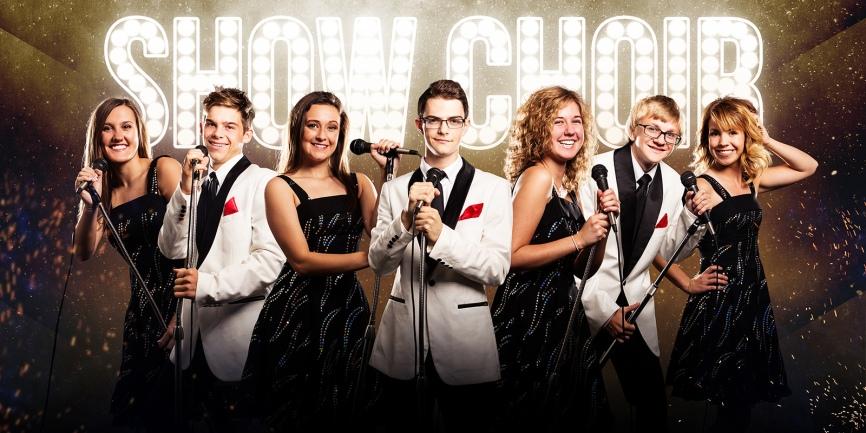 CHS Show Choir photographed by Kansas City photographer, Mike Curtis