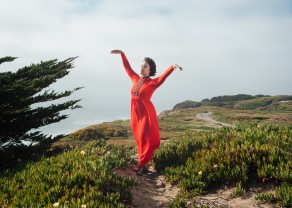 Musician Leila Block photographed by Jenna Przybylowski in San Francisco
