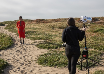 Behind the scenes with photographer Jenna Przybylowski