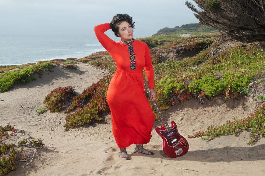 Musician Leila Block photographed by Jenna Przybylowski in San Fransisco