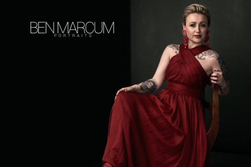 Portrait and headshot photographer, Ben Marcum