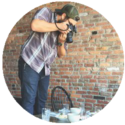 Nashville based e-commerce and food photographer, Nathan Pedigo