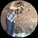 Nashville based e-commerce and food photographer, Nathan Pedigo