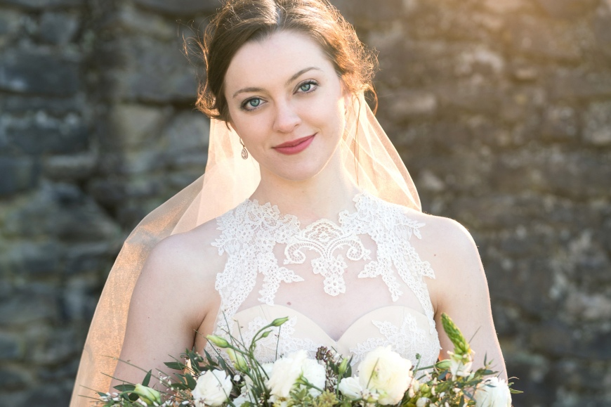 Bridal Portrait by photographer Rebecca Denton
