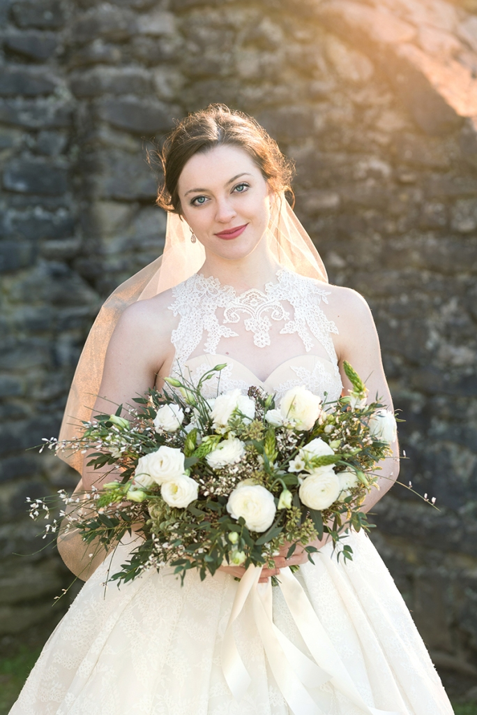 Bridal Portrait by photographer Rebecca Denton