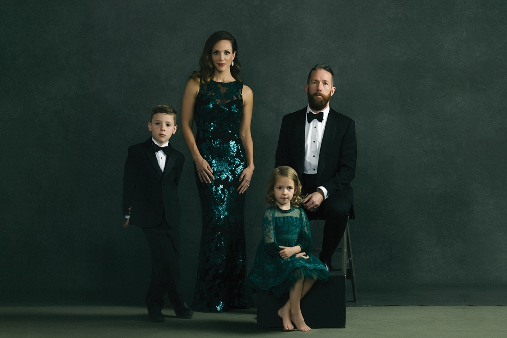 The Watson Family photographed by South Carolina portrait photographer, Lauren Gregory.