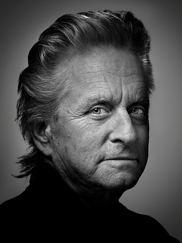 Actor, Michael Douglas, photographed by Matt Carr
