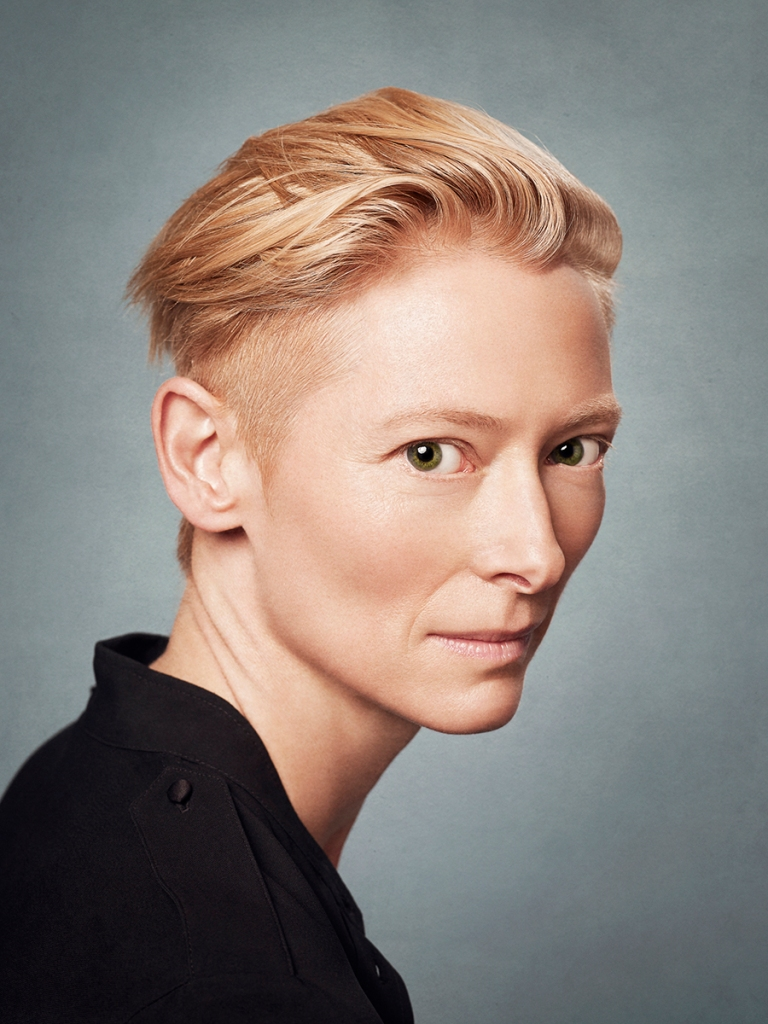 Actress, Tilda Swinton, photographed by Matt Carr