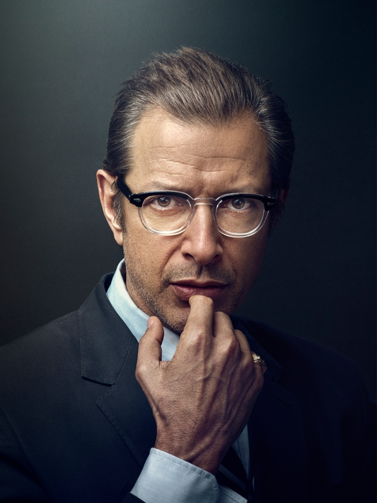 Actor, Jeff Goldblum, photographed by Matt Carr