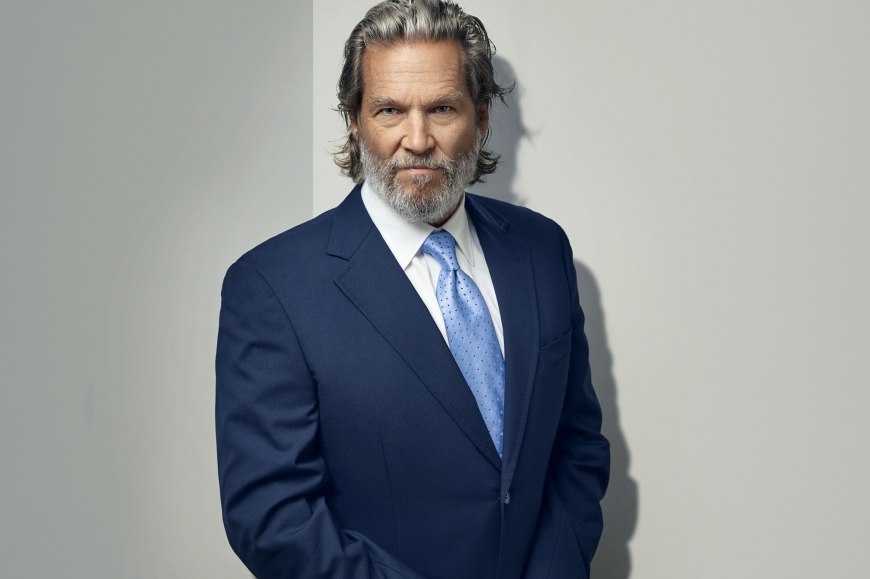 Actor, Jeff Bridges, photographed by Matt Carr