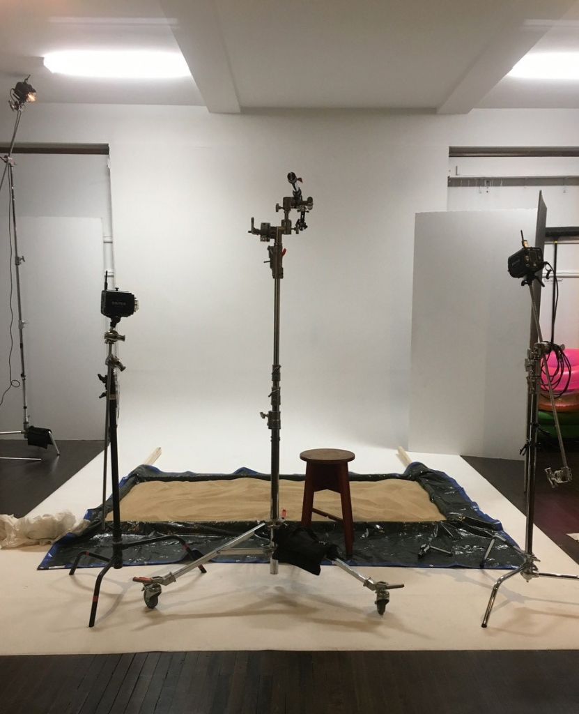 Stevie Chris photo shoot behind the scenes