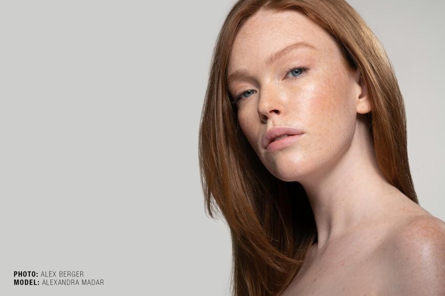 Model, Alexandra Madar, photographed by Nashville based photographer Alex Berger