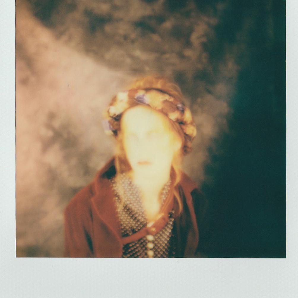 Polaroid of Amber Milam by Eden Lauren